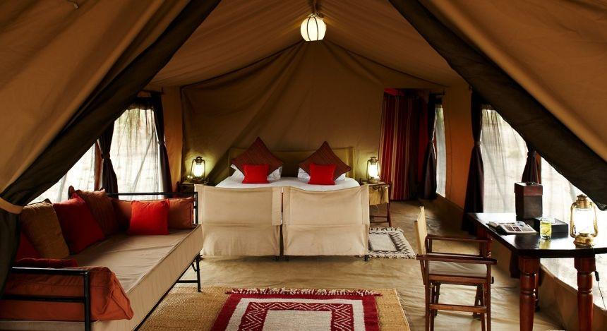 Zimmer des Olakira Camps (Südliche Serengeti, Tansania