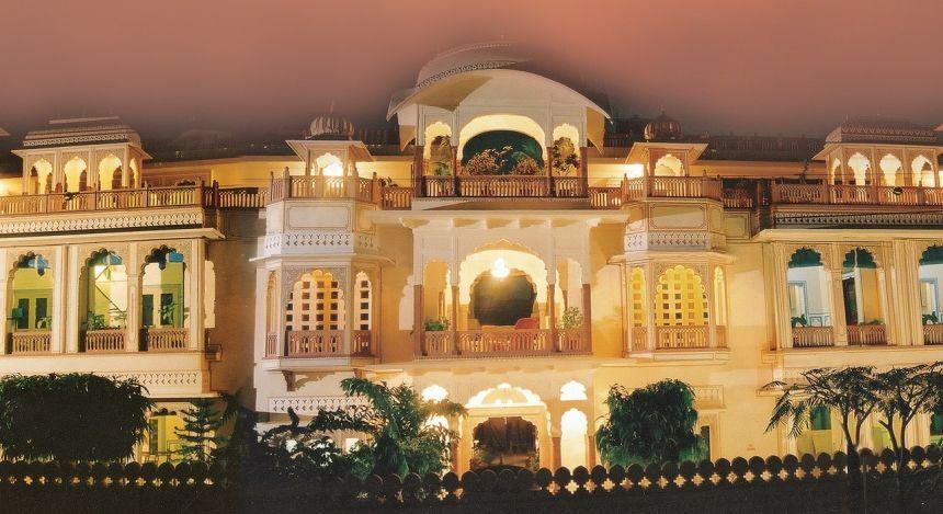 Außenansicht von Shahpura House Jaipur, Nordindien