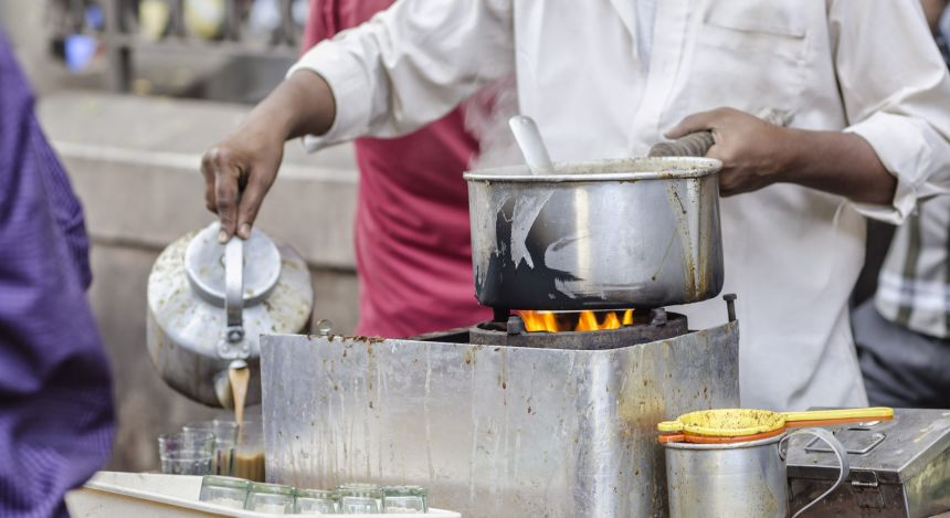 Street Food in Indien