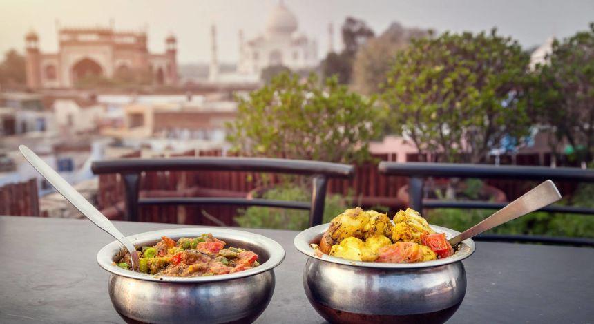 Duftige Currys in Indien