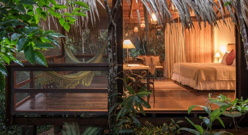 Ausblick von Anavilhanas Jungle Lodge