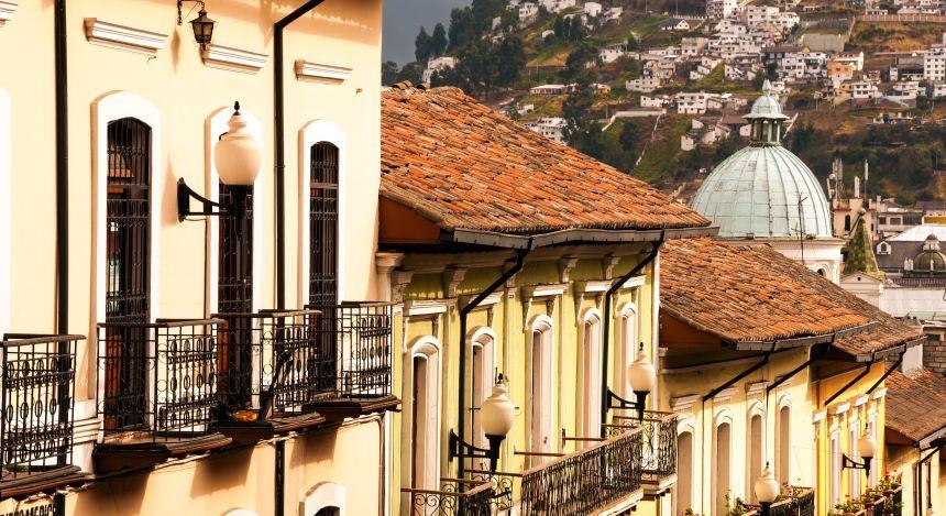 Die Altstadt von Quito