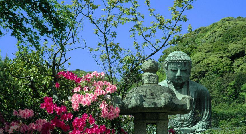 Der große Buddha von Kamakura, Japan