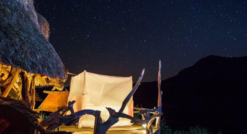 Enchanting Travels Kenya Tours Laikipia Hotels Il Ngwesi Starbed