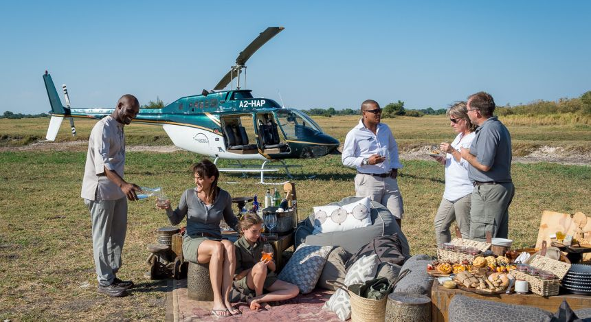 Enchanting Travels Top 10 Unusual Luxury African Safari Experiences helicopterhorizons_2016-11-74e