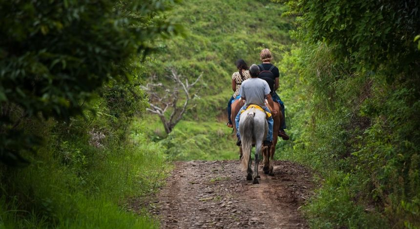 Horse riding in Monteverde Cloud Forests