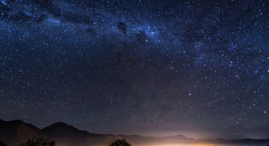 The Milky Way over Elqui Valley