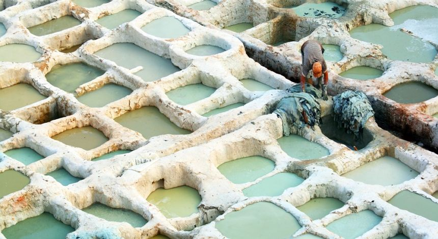 The world's oldest tanneries in Fes