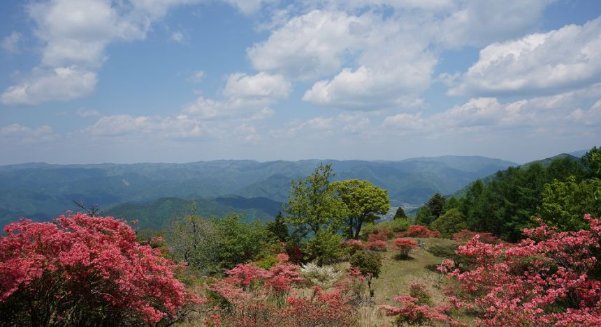 View from Mount Hiei in Kyoto Prefecture