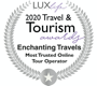 Lux 2020 Travel & Tourism Award