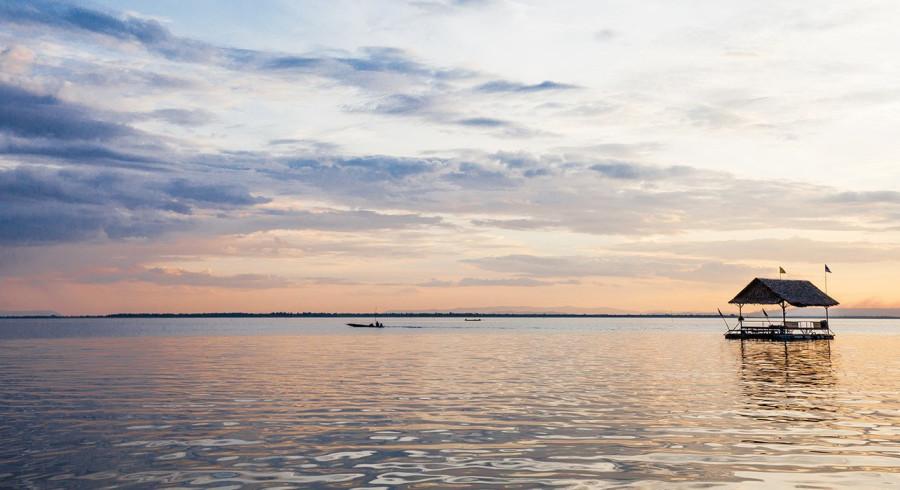 Größter See Asiens
