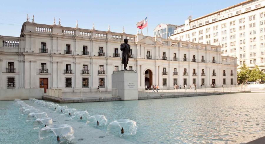 Casa La Moneda in Santiago de Chile