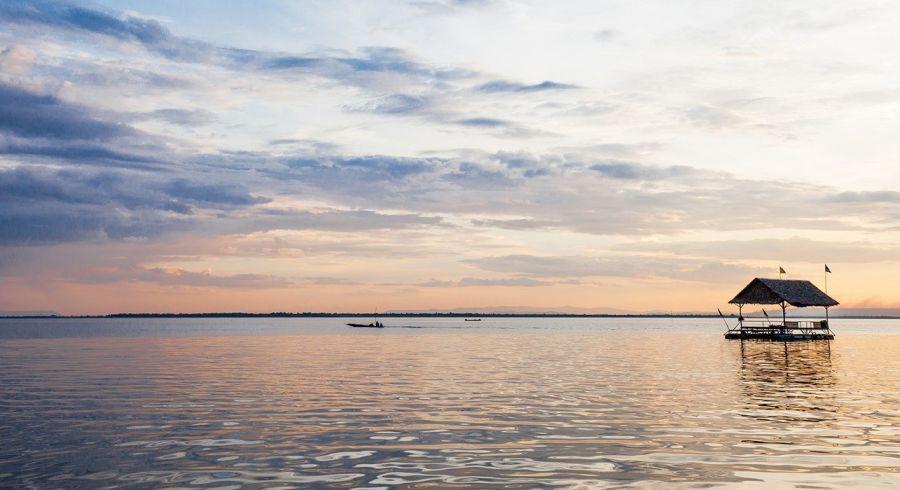 Battambang: Reiskammer Kambodschas, Blick auf den Tonle Sap See