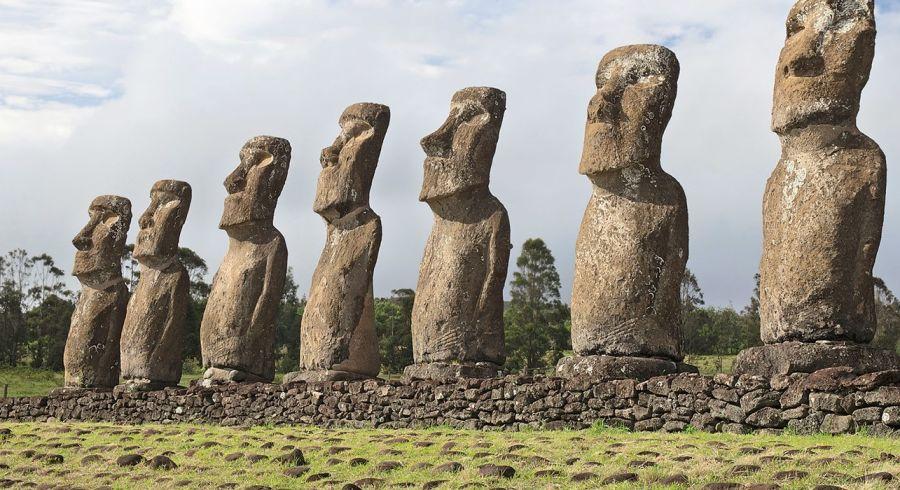 Die mysteriösen Osterinsel Steinskulpturen