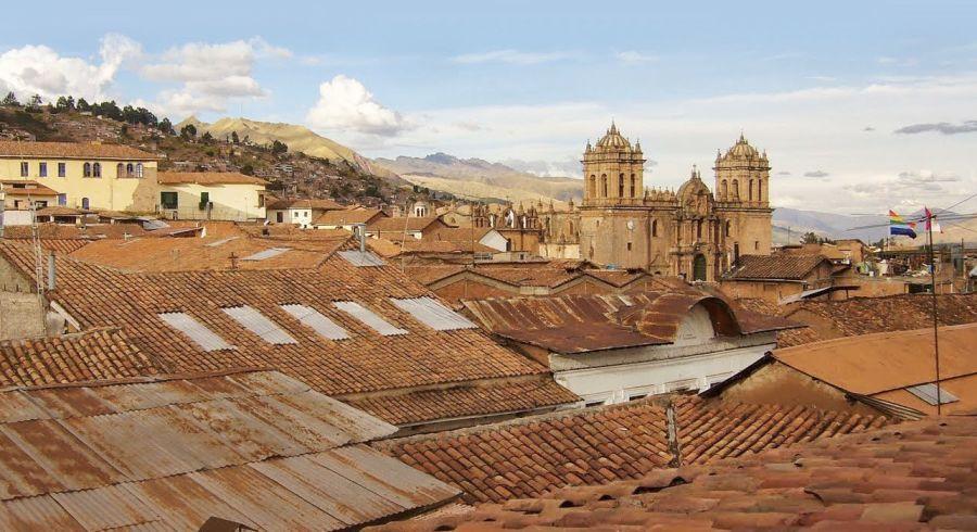 Blick über die Dächer Cuscos