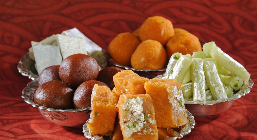 Indian sweets with Enchanting Travels