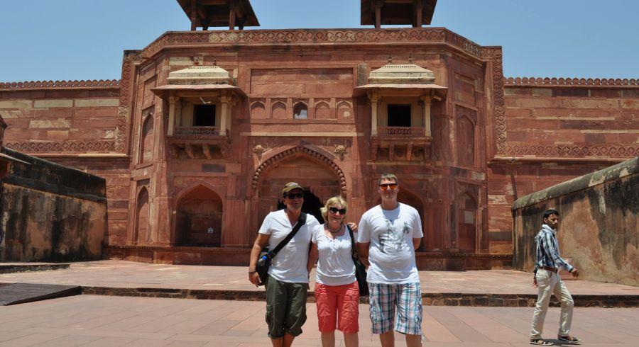 Das Agra Fort darf auf keiner Indienreise fehlen!
