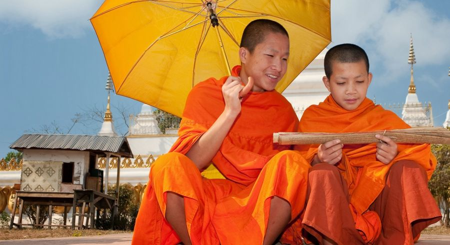 Enchanting Travels Laos Tours monks