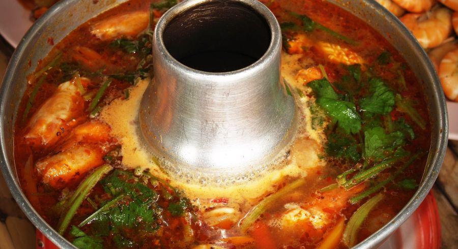 Gericht der thailändischen Küche