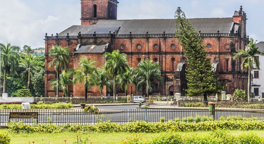 Historic buildings in Old Goa, Asia - Things to do in Goa