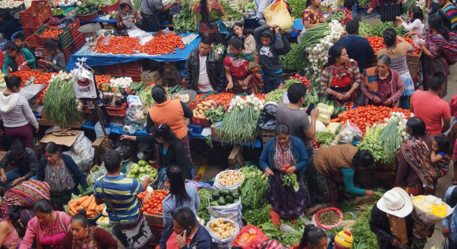 Markt in Guatemala