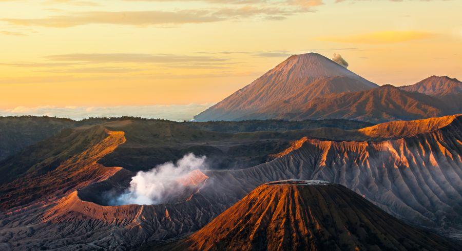 Vulkanwanderung auf dem Mount Bromo