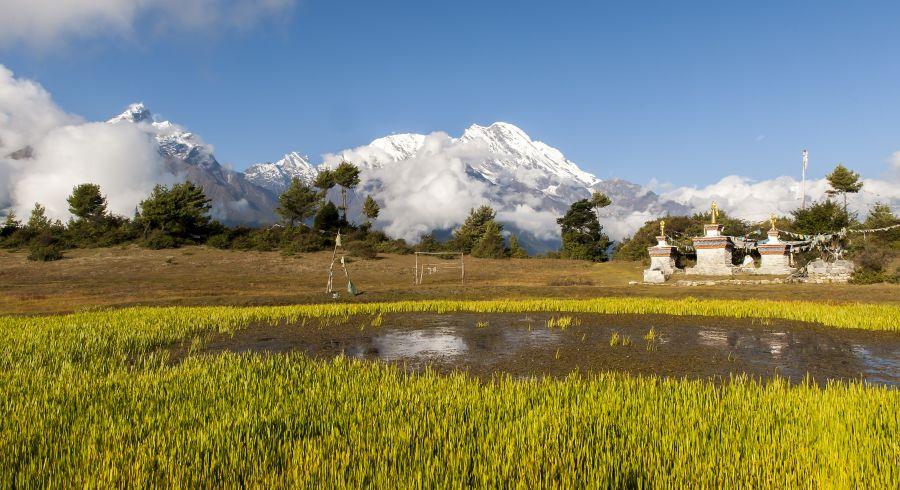 Tibets malerische Landschaften