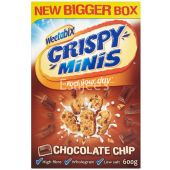 Weetabix Crispy Minis Chocolate Chip Cereal