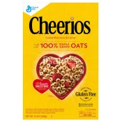 General Mills Cheerios Toasted Whole Grain Oat Cereal Gluten Free