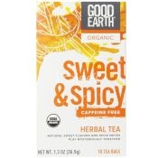 Good Earth Organic Sweet and Spicy Herbal Tea