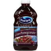 Ocean Spray Bottle 100% Cranberry Pomegranate Juice