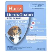 Hartz Ultra Guard Reflecting Flea Tick Collar For Dogs And Puppies