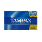 Tampax Tampons with Flushable Applicator Regular Absorbancy