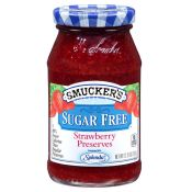 Smucker Sugar Free Strawberry Jam