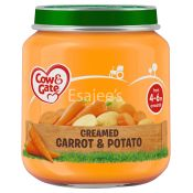 Cow & Gate Creamed Carrot & Potato Baby Food