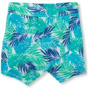 The Children's Place  Girl Active Printed Wrap Skort Turks Aqua