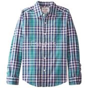 The Children's Place  Boy Long Sleeve Check Print Button Down Shirt