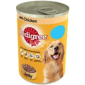 Pedigree Dog Tin with Chicken in Jelly