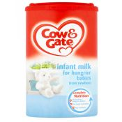Cow & Gate For Hungrier Stage 2 Baby Infant Milk