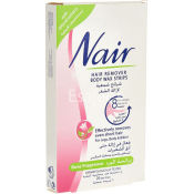 Nair Hair Removers Body Wax Strips