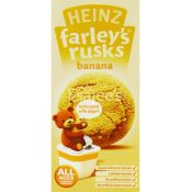 Heinz Farleys Banana Baby Rusks