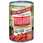 Muir Glen Organic Petite Diced Tomatoes with Chipotle Peppers