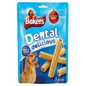 Bakers Dog Foods Dental Delicious with Beef