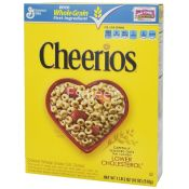 Cheerios Cereals Whole Grain Toasted Whole Grain