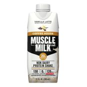 Muscle Milk Coffee House Non Dairy Protein Shake Vanilla Latte