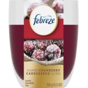 Febreze Sugared Cranberry Scented Candle