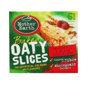 Mother Earth Baked Oaty Slices Bar White Chocolate