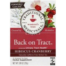 Traditional Medicinals Back On Tract Hibiscus Cranberry Tea