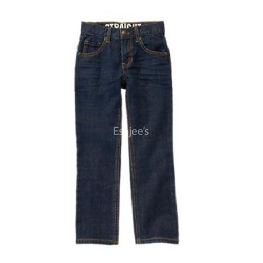 Gymboree Boy Straight Regular Jeans Dark Denim
