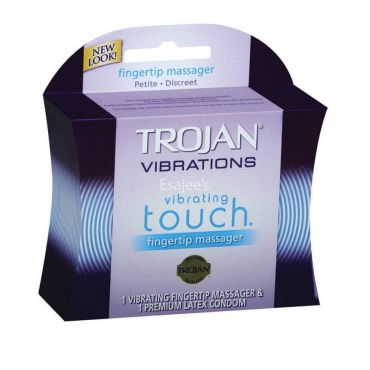 Shaking, support. Pleasuring vibrating condom